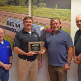 Big M Awarded MTA's First Place Safety Award